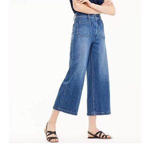 Point Sur NWT Wide Leg Crop Jeans